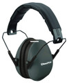 Champion 40971 Slim Ear Muffs - Passive Protection, NRR 21dB, Black - 40971