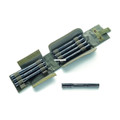 Chiappa 970.435 X-Caliber 20 Gauge - Adapter Set 4 Inserts w/Case Cal - 970.435