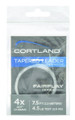 Cortland 605053 Fairplay Fly - Leaders 4X 7.5' 4.5lb - 605053