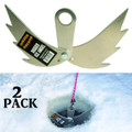 Digger D-30 Ice Angels (Pair) Dry - Hole Ice Anchor - D-30