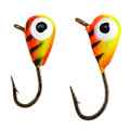 Eagle Claw ICTSJ12-FT Tungsten - Arctic Ice Jig Size 12 Fire Tiger - ICTSJ12-FT