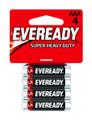 Energizer 1212SW-4 Super Heavy Duty - Batteries AAA 4Pk - 1212SW-4