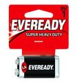 Energizer 1222SW Super Heavy Duty - Batteries 9V 1Pk - 1222SW