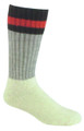 Fox River 7267-7030-L Boot Sock For - Shoe Sz9-12 Grey - 7267-7030-L