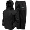Frogg Toggs AS1310-01LG All Sport - Rain Suit Black Size LG - AS1310-01LG