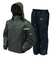Frogg Toggs AS1310-105MD All Sport - Rain Suit, Stone Black Size MD - AS1310-105MD
