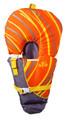 Full Throttle 104000-200-000-14 - Baby Safe Vest Infant Org/Grey - 104000-200-000-14