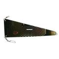 Gold Star 5020 013 013 Rudder - Flasher 13 inch Hammered Chrome - 5020 013 013