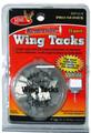 HME RWT-25W Reflective Wing Tack - 25P White - RWT-25W
