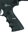 Hogue 15000 AR-15/M-16 OverMolded - Rubber Grip w/Finger Grooves, Black - 15000