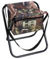 Hunters Advantage DS-1006 Folding - Camo Stool with Storage Pocket 19mm - DS-1006