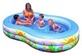"Intex 56490EP 56490E Swim Center - Pool Paradise Lagoon 103""x63x18"" - 56490EP"