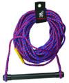 Kwik Tek AHSR-1 Airhead Ski Rope - 75' W/Aluminum Handle - AHSR-1