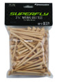 "Pinemeadow 11625 3.25"" Golf Tees - Natural 75Pk - 11625"