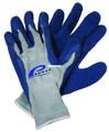 Promar GL-200-XL Rubber Glove XL - Blue Latex - GL-200-XL