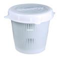 Scotty 0670 Crab Diner Bait Jar - With Vented Lid, 1/2 Litre, Natural - 670