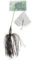 Wahoo WAH-PB14-3 Promo Buzz Bait - 1/4 oz, 4/0 Hook, Black, 1/Pack - WAH-PB14-3
