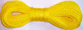 "Willapa 00226 Rope Hollow Braid - Poly 1/4""x100' Yellow - 226"