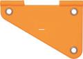"""Wordens 211-OR Free Sliding - Rudder/Spreader Orange 3.5"""" - 211-OR"""