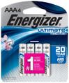Energizer L92SBP-4 Ultimate Lithium - AAA Batteries 4 pack - L92SBP-4