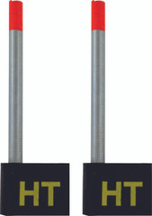 SLAB MASTER SPRING BOBBERS - GAMEFISH - TWO PER PACKAGE