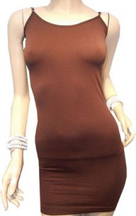 Chocolate Brown Long Camisole