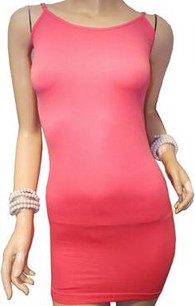 Coral Long Camisole