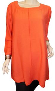 687 Coral/Orange Invert Seam Solid Top