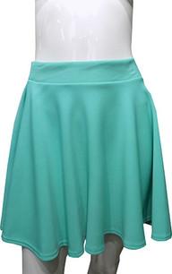 Turquoise Scuba Skirt