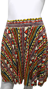Tribal Pattern Printed Skirt