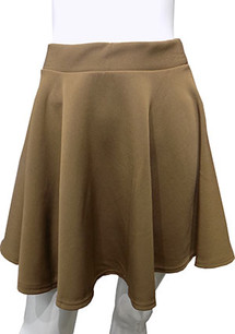 Mocha Scuba Skirt