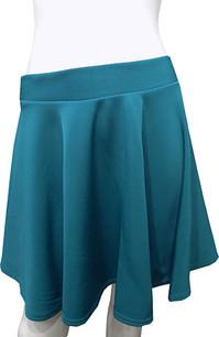 Teal Scuba Skirt