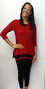 716 Red/Black Tunic