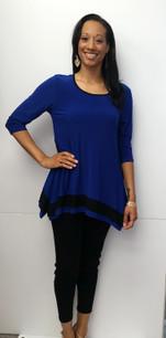 716 Royal Blue/Black Tunic