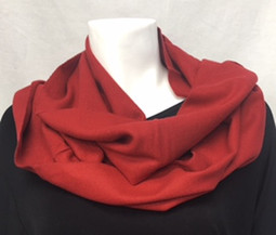 Burgundy Cashmere-Feel Scarf