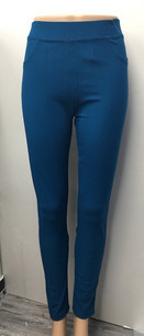 J04 Teal Jeggings