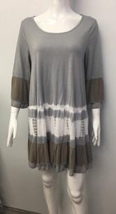 3173 Grey Tie Dye Dress