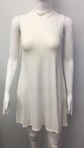 2905 Creme Pocket Tank Dress