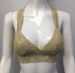 B82 Bronze Lace Bra