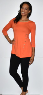 4053 Orange Side Button Top