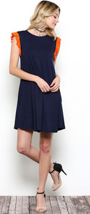 3953 Auburn Inspired Dress