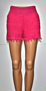 SH-02 Fuchsia Lace Short