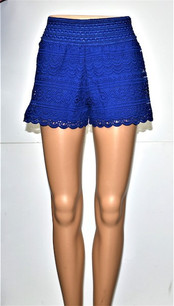 SH-02 Royal Blue Lace Short