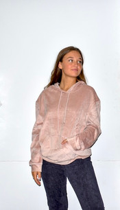 18A474 Pink Hooded Top