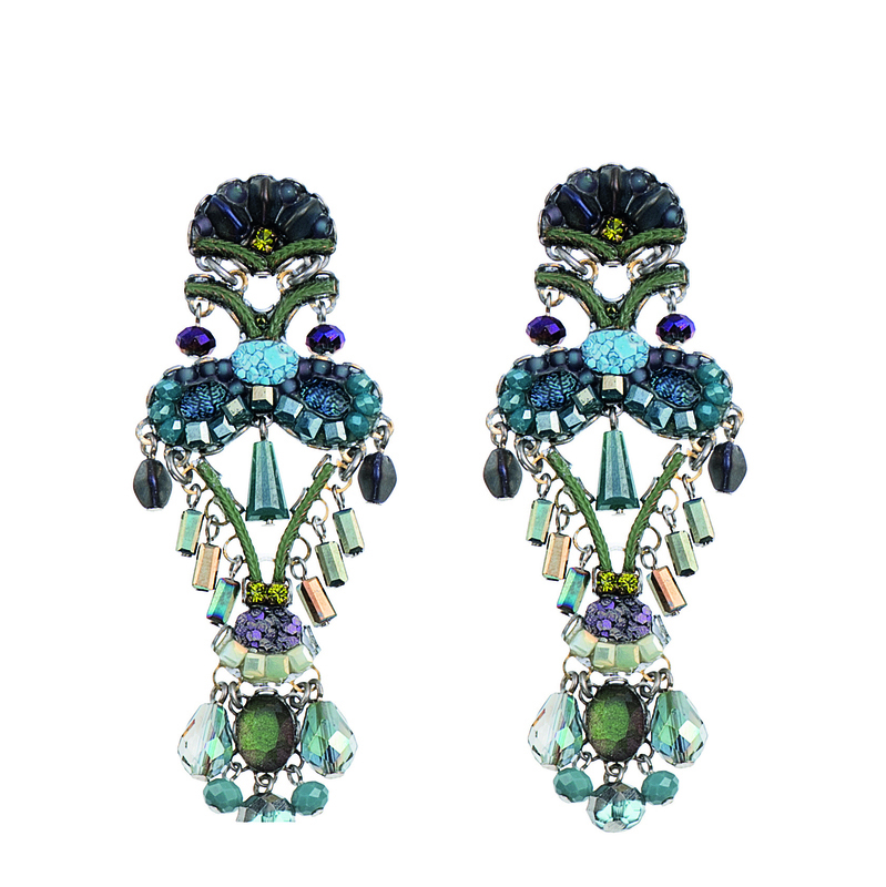 Tantalizing Turquoise Mist Earrings