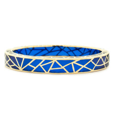 Andrew Hamilton Crawford Bracelet Kaleidoscope Sapphire and Gold