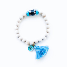 7Stitches Kabbalah Protection with Turquoise Bracelet