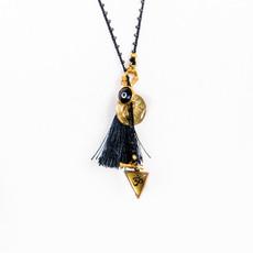 7Stitches Beaded Zen Lariat Necklace