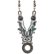 Ayala Bar Long Blue Clearwater Necklace