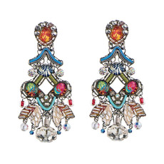 Ayala Bar White Odyssey Post Earrings